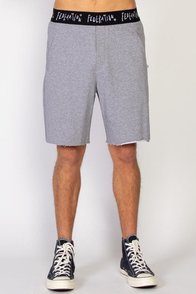 Federation Day Short Grey Marle