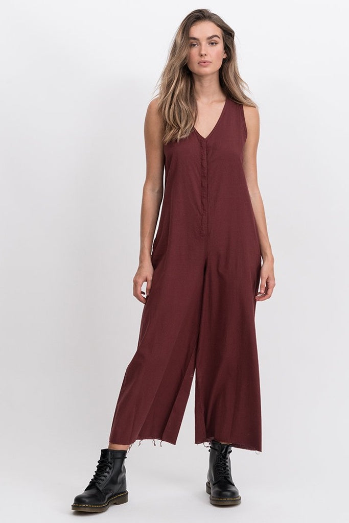 Thrills Laurel Jumpsuit Blood Red
