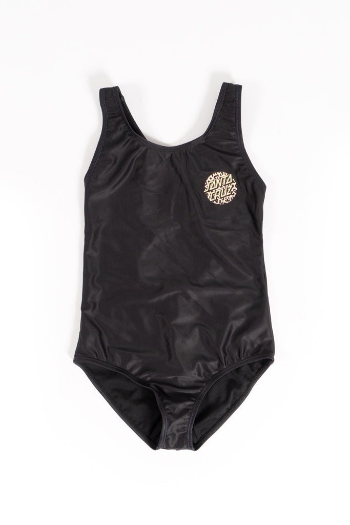 Santa Cruz Youth Girls Primal Point One Piece Black