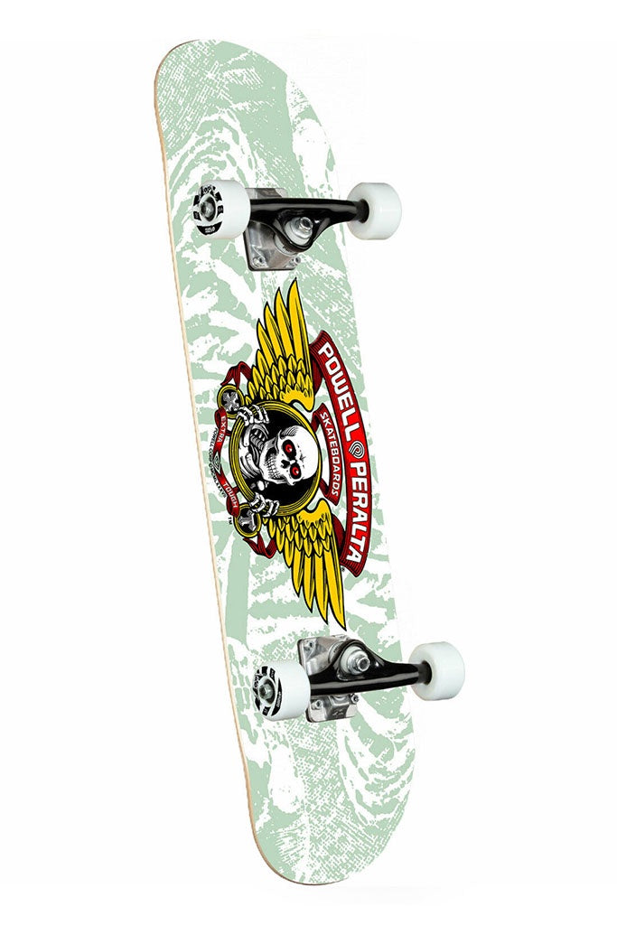 Powell Peralta Winged Ripper White Complete 8''