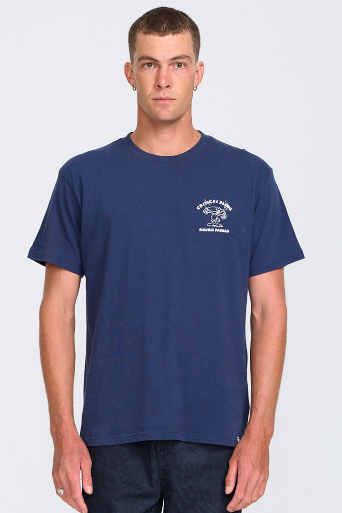 TCSS Parked Tee Washed Navy