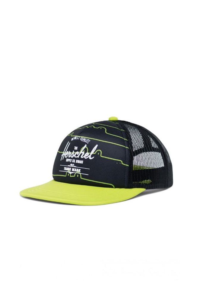 Herschel Whaler Youth Soft Brim Later Gaitor Lime Geen