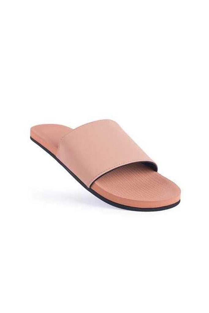 Indosole Womens Essentials Slide Rust