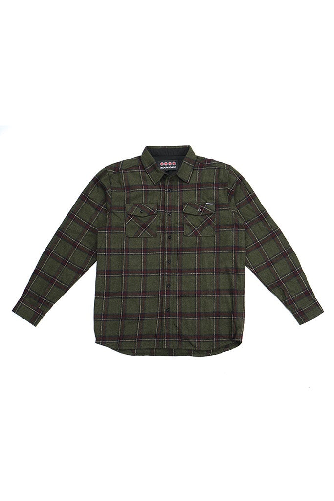 Independent L/S Shirt Chainsaw Jungle