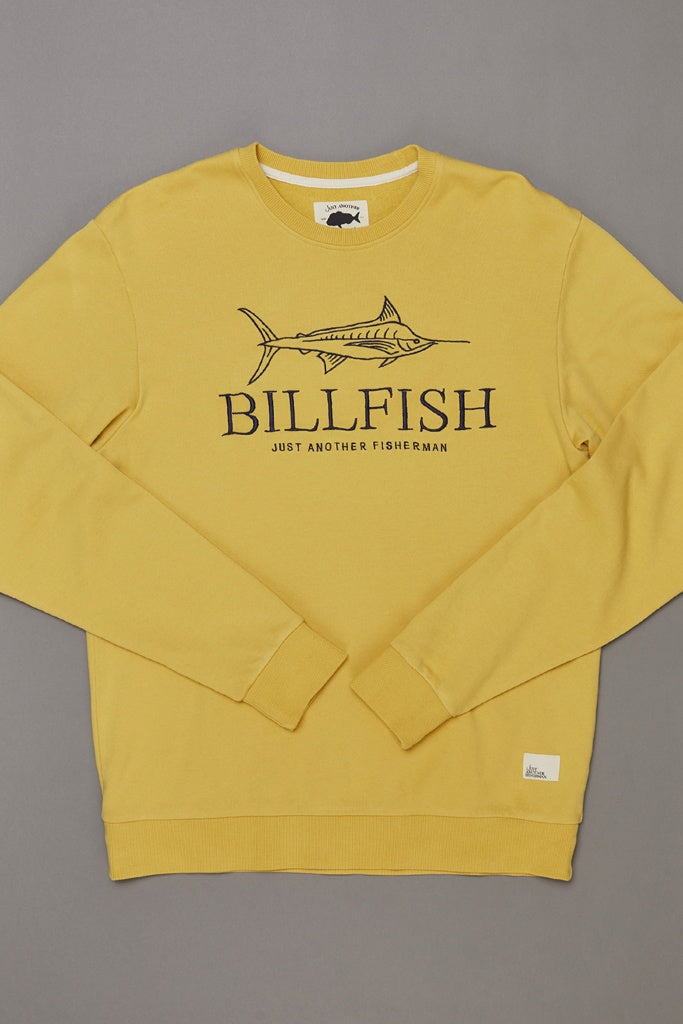 Just Another Fisherman Billfish Crew Washed Yellow