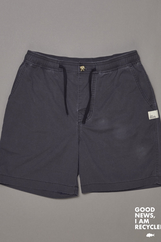 Just Another Fisherman Submersible Walkshorts Aged Black