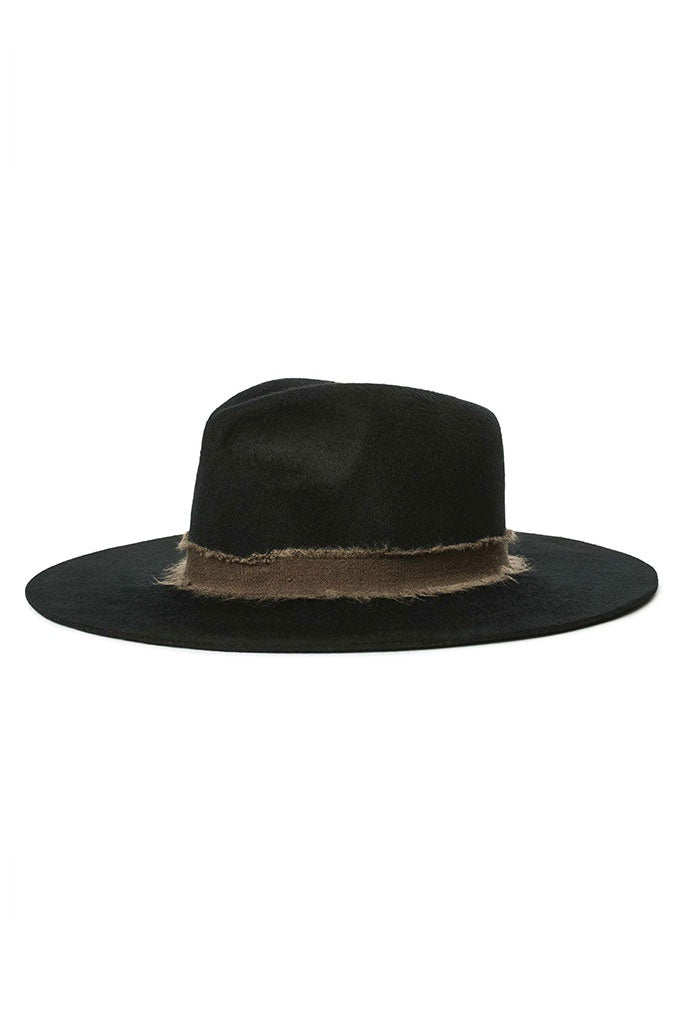 Brixton Ella Fedora Black/Brown