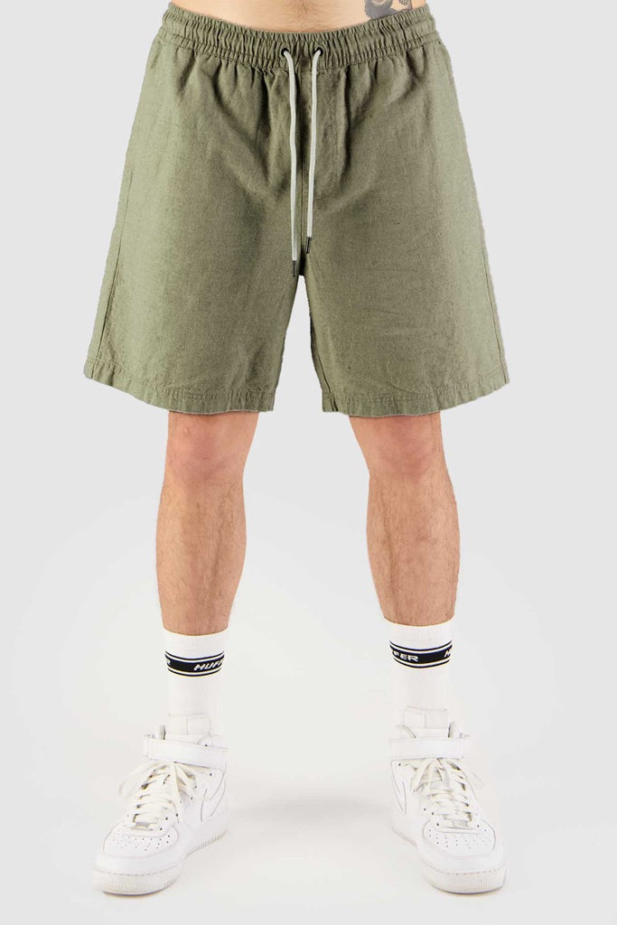 Huffer Oneroa Relax Shorts Sage