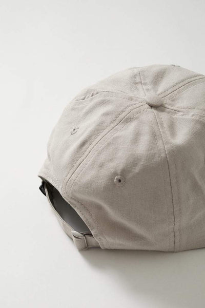 Afends Classic Hemp 6 Panel Cap Moonbeam