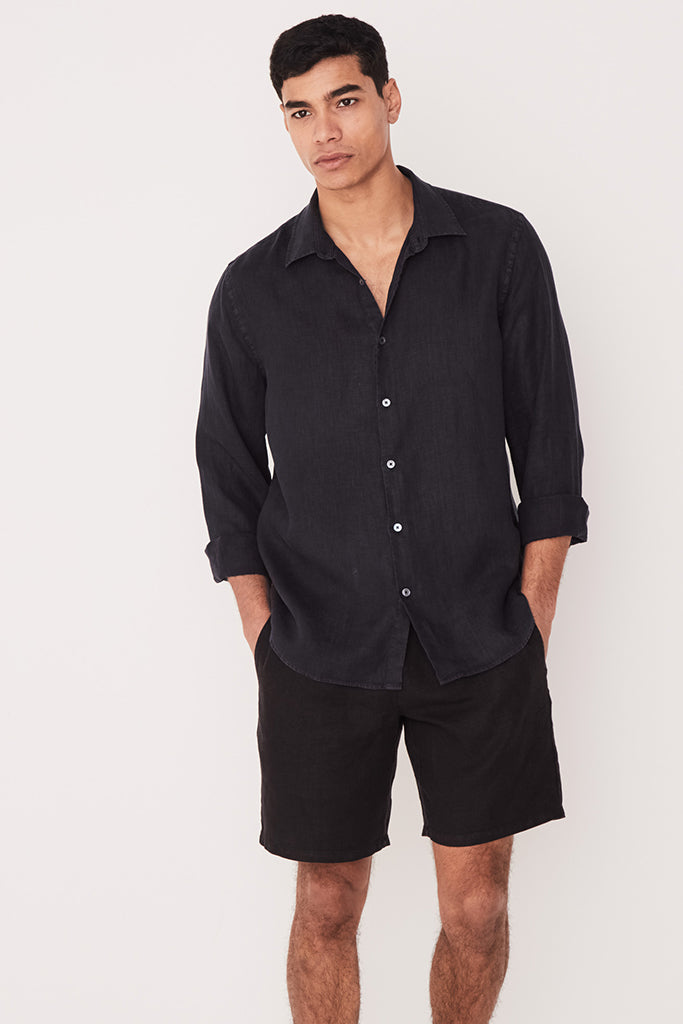Assembly Casual LS Shirt True Navy