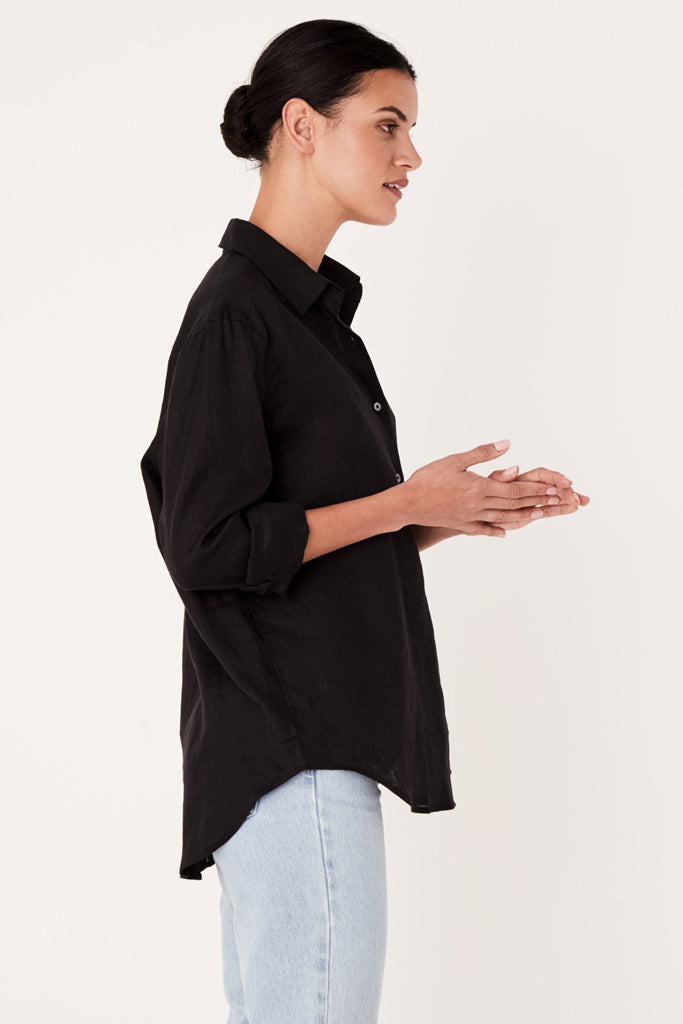 Assembly Xander L/S Shirt Black