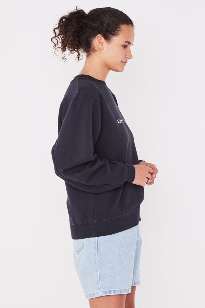 Assembly Logo Fleece True Navy