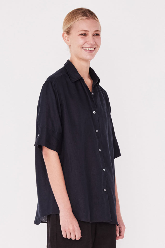 Assembly S/S Shirt True Navy