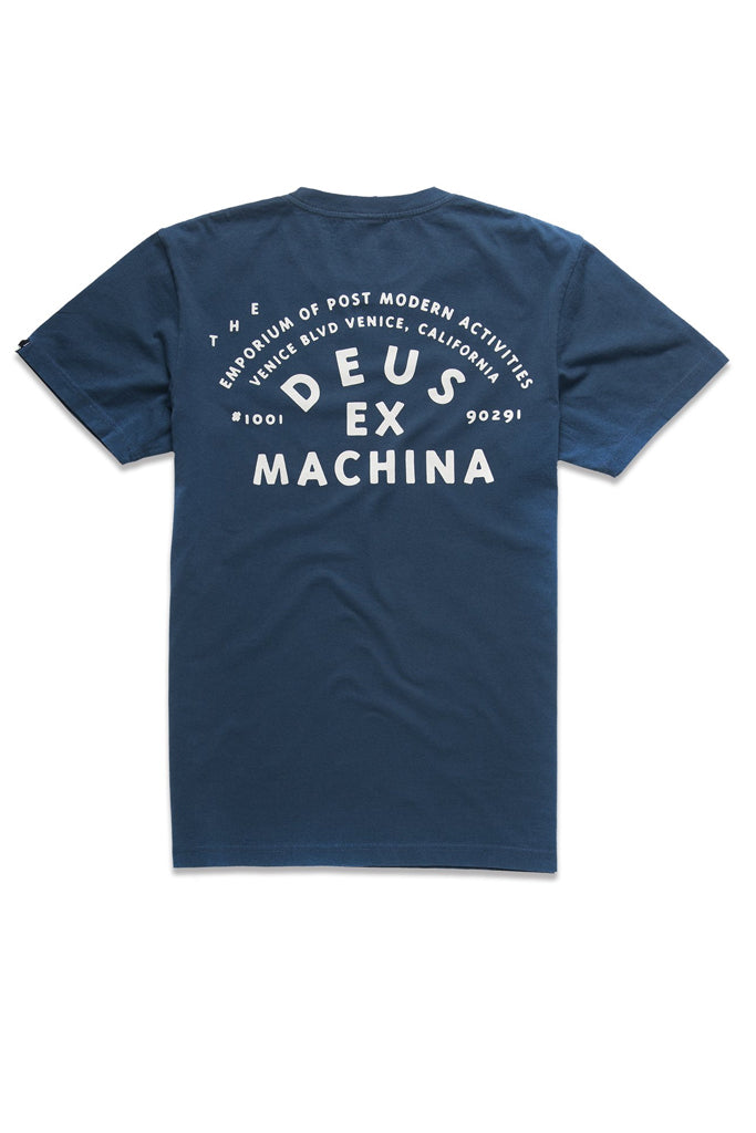Deus The A100 Tee Navy
