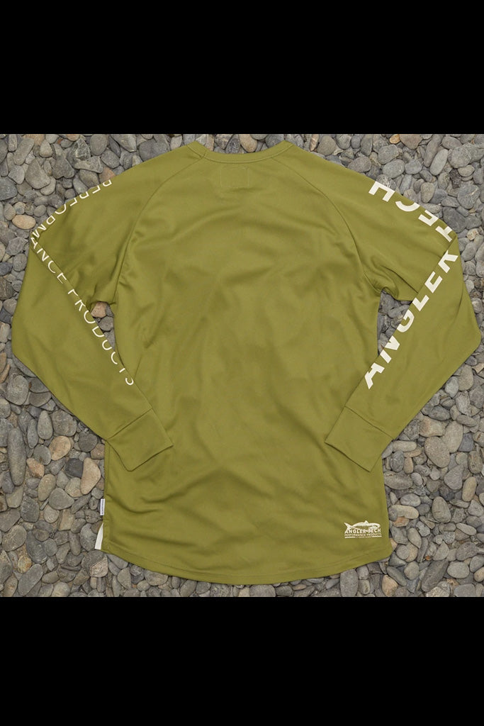 JAF Angler Tech LS Tee Light Khaki