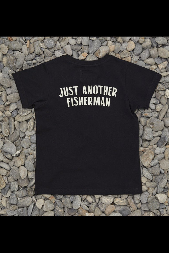 Just Another Fisherman Mini Mechanic Tee Black
