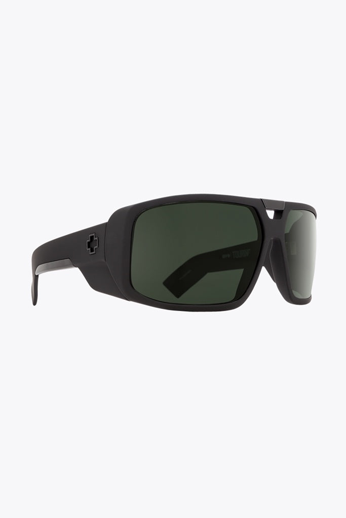 SPY Touring Soft Matte Black/Happy Grey Green1