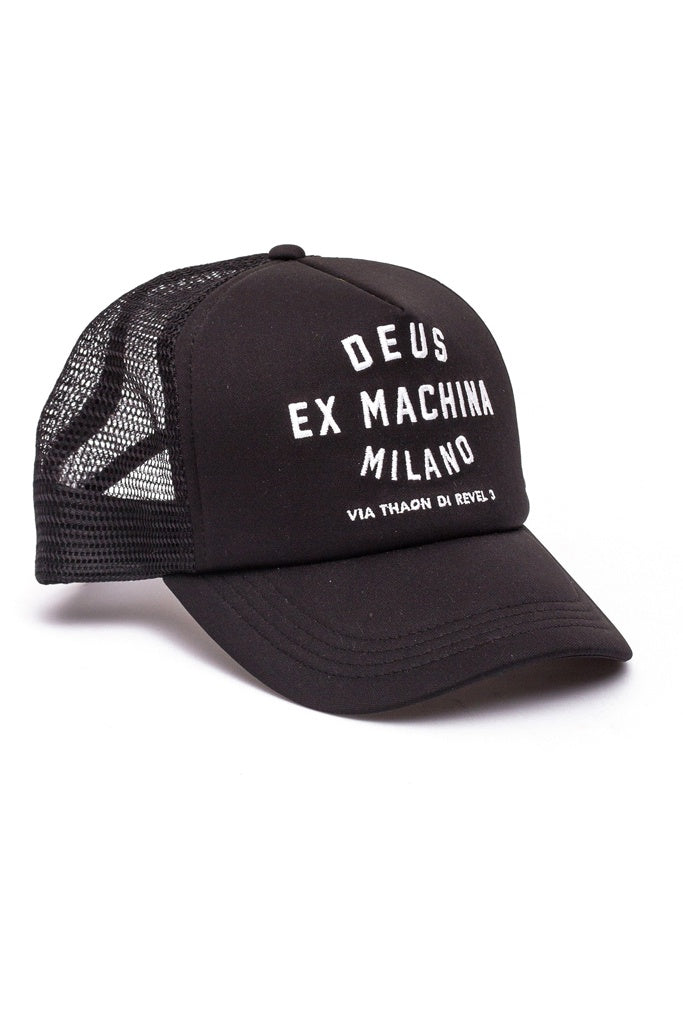 Deus Milano AddreS/S Trucker Black