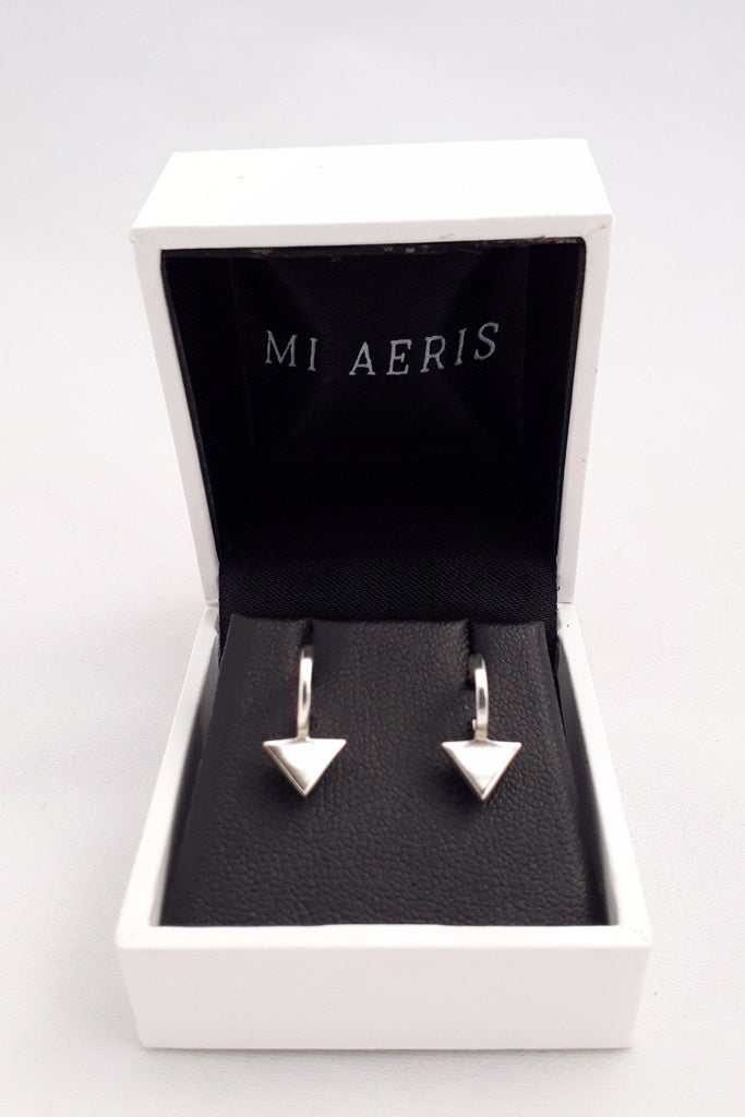 Mi Aeris Arrow Earrings Sterling Silver