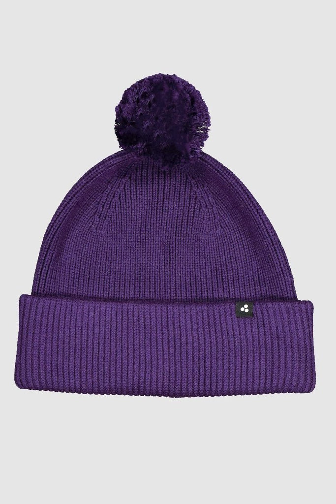 Huffer Oversized Pom Pom Beanie Deep Purple