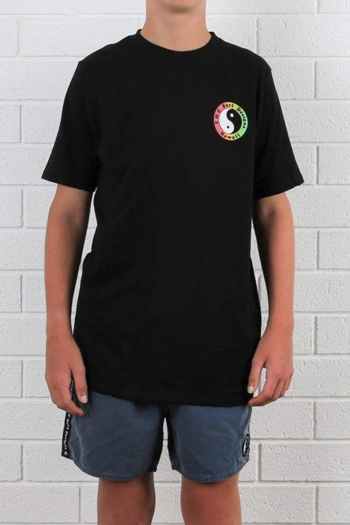 T&C Youth OG Logo Tee Black Fade