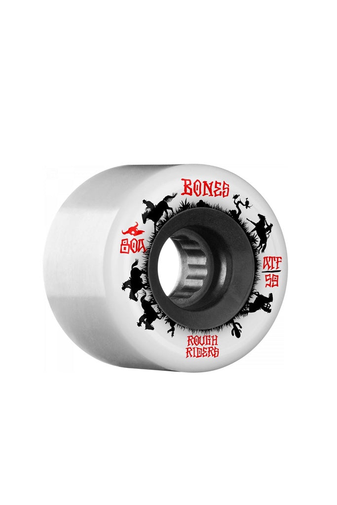 Bones ATF Rough Rider Wranglers 59mm White