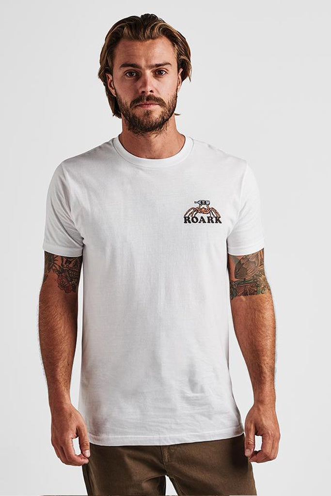 Roark Cruisin For A Boozin Tee White