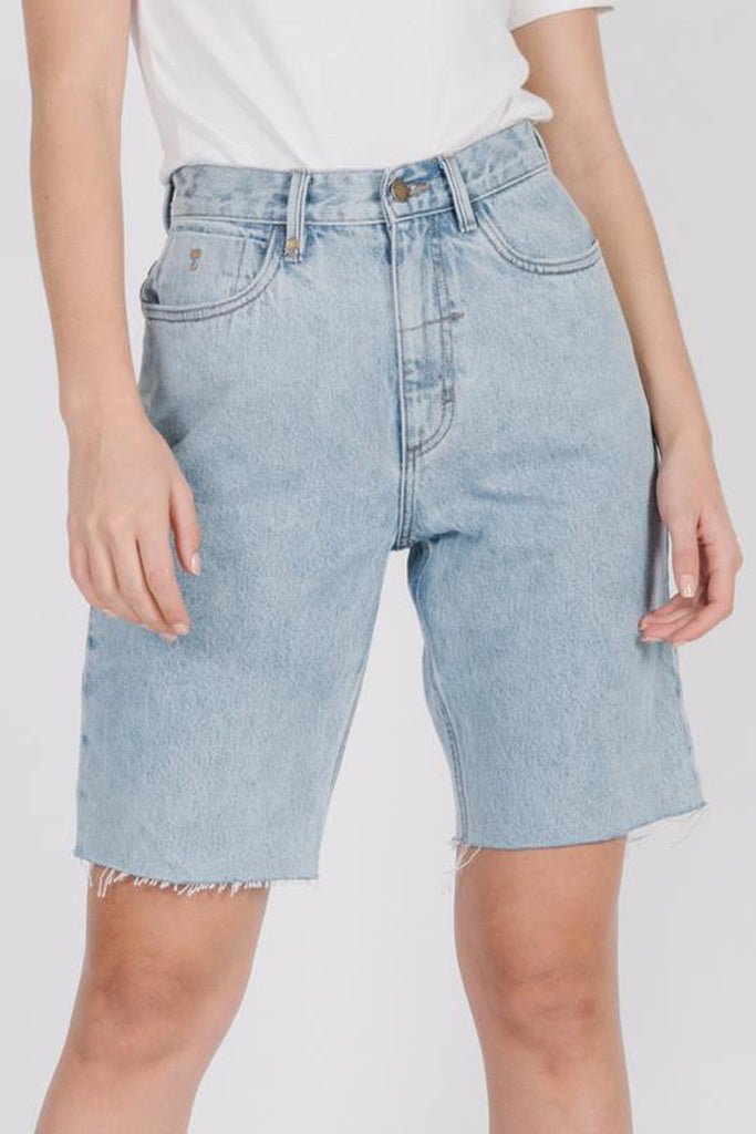 Thrills Market Short Wasted Blue