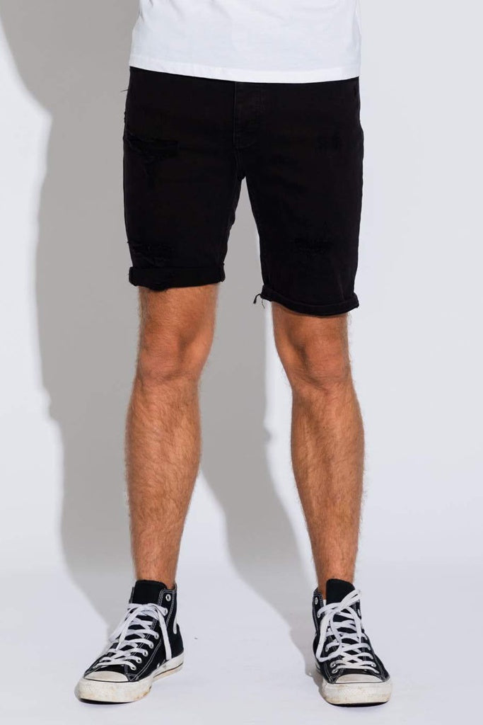 Abrand A Dropped Skinny Short Blackout