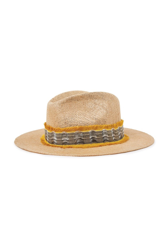 Brixton Messer III Fedora Natural