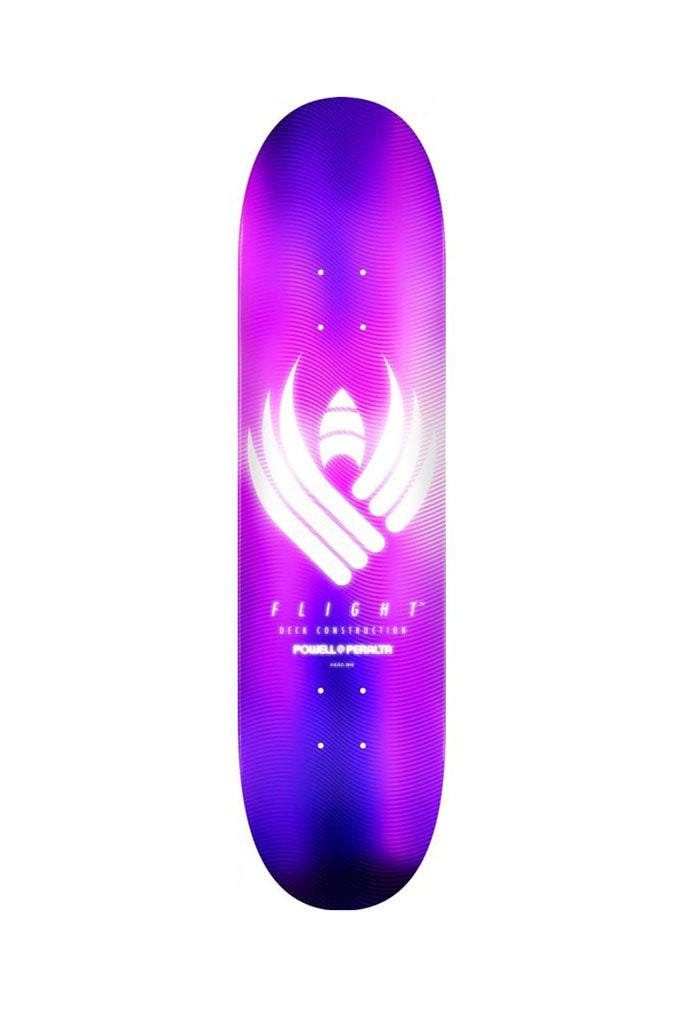 Powell Peralta FLIGHT Deck GLOW Purple 8.50''