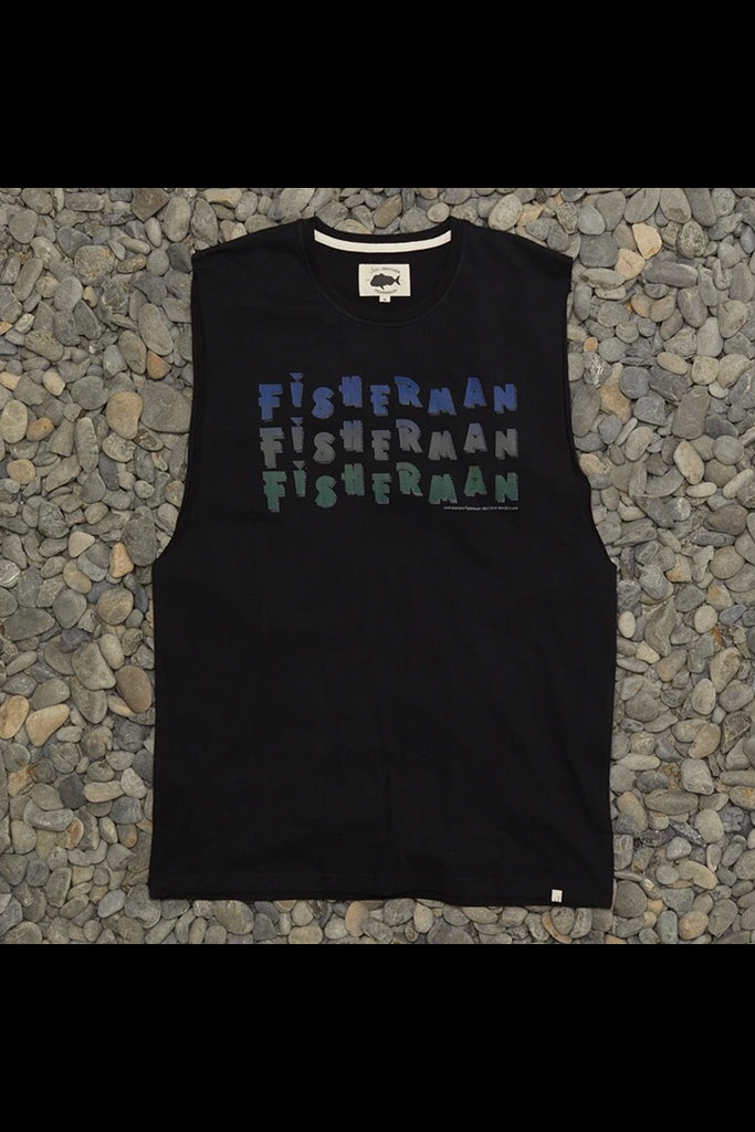 Just Another Fisherman Island Tank Black
