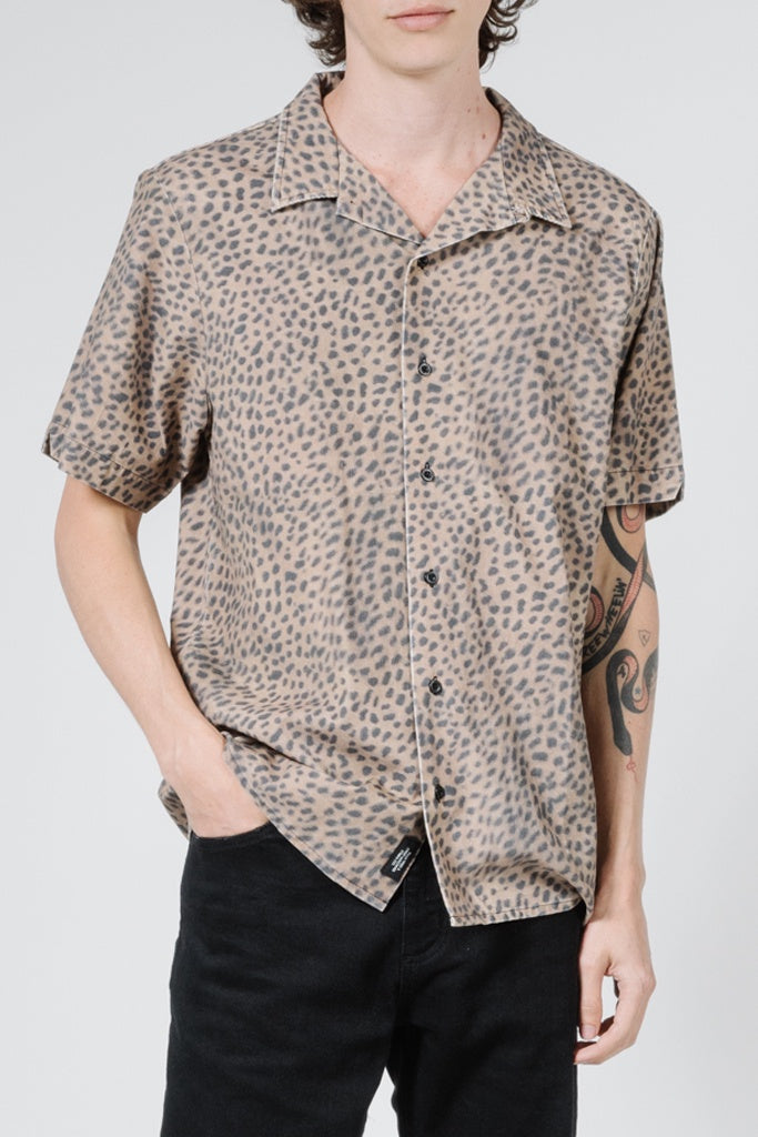 Thrills Primitive Bowling S/S Shirt Bronze