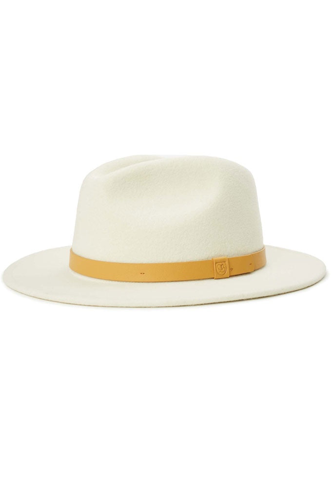 Brixton Messer Fedora Ivory/natural