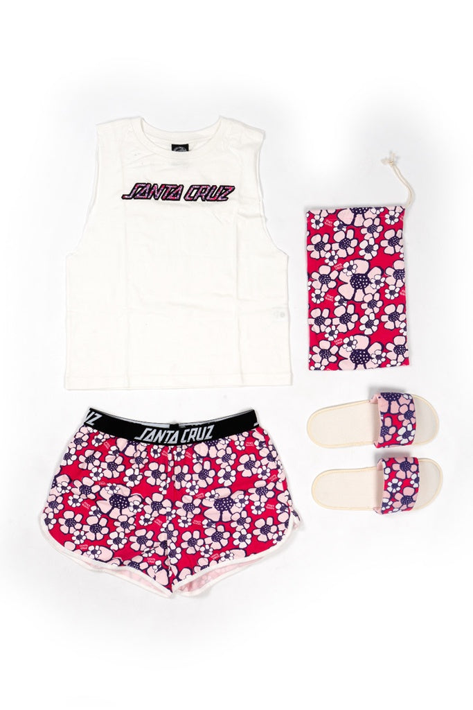 Santa Cruz Flower Power Pj Set Multi