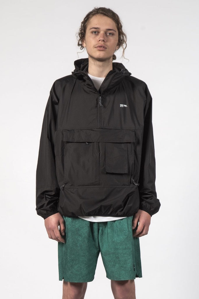 Thing Thing Cron Anorak Black