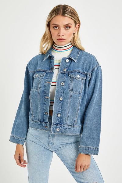 Abrand A Bonnie Denim Jacket Miss Jane