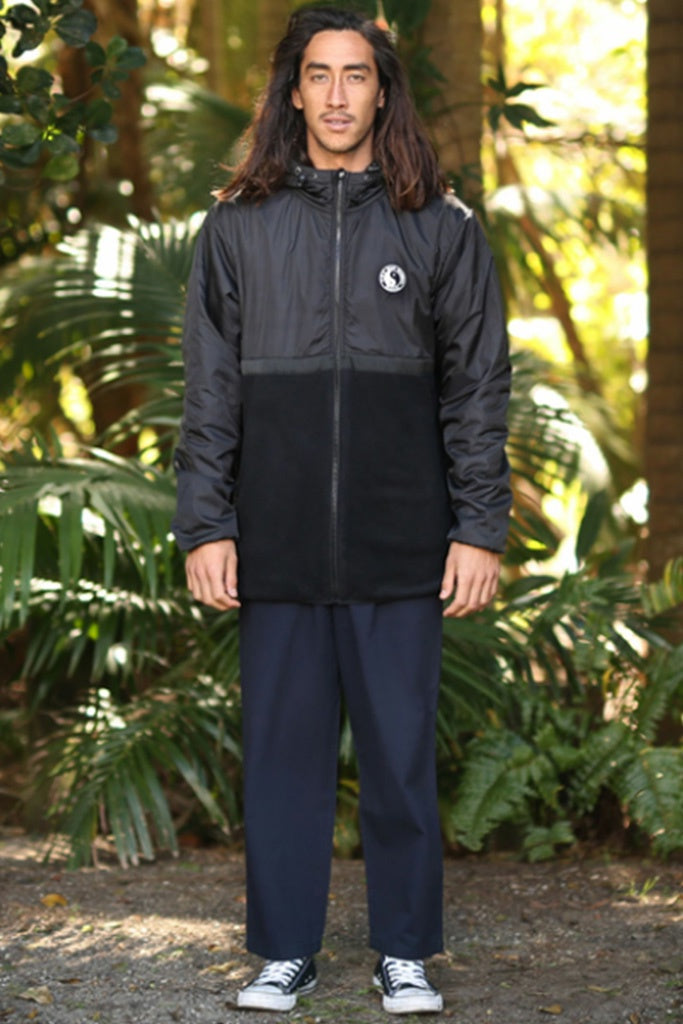T&C Zone Hybrid Jacket Black