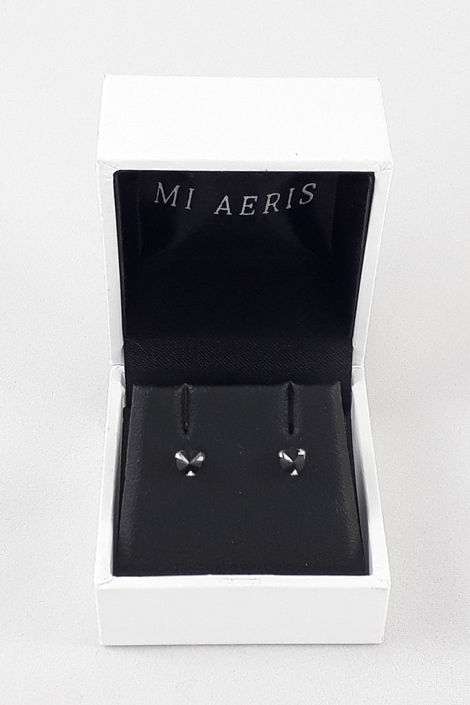 Mi Aeris Inverted Studs Sterling Silver NZ Made