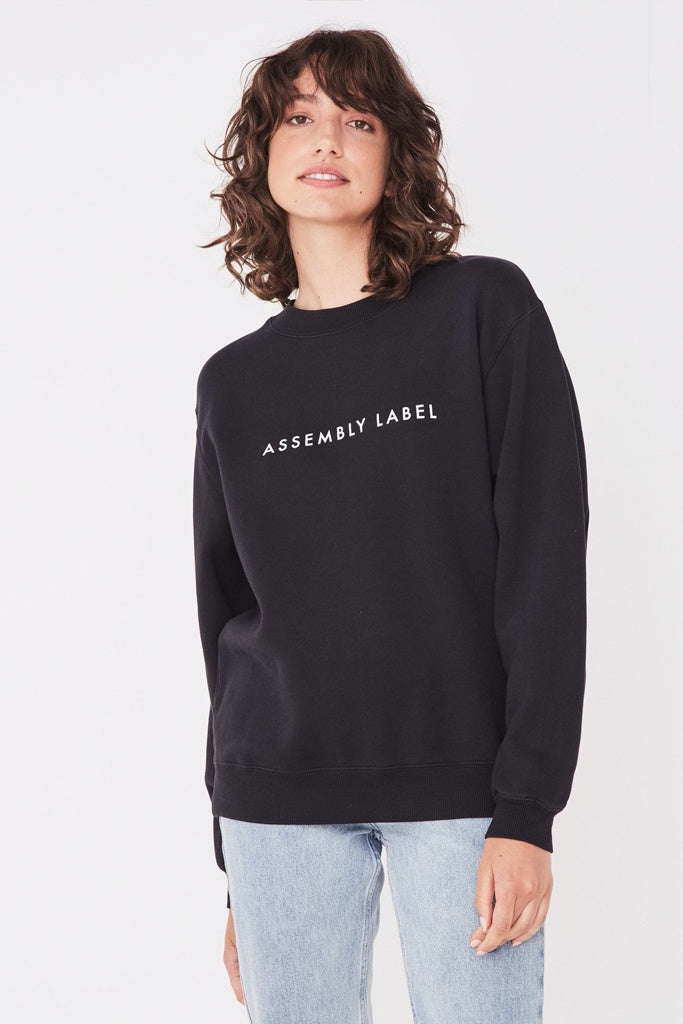 Assembly Logo Fleece Womens Black