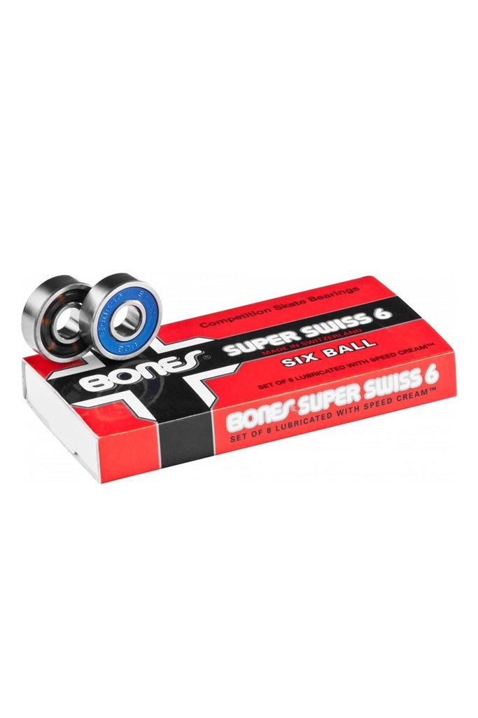 Bones Bearing Swiss 6 Ball 8 Pack