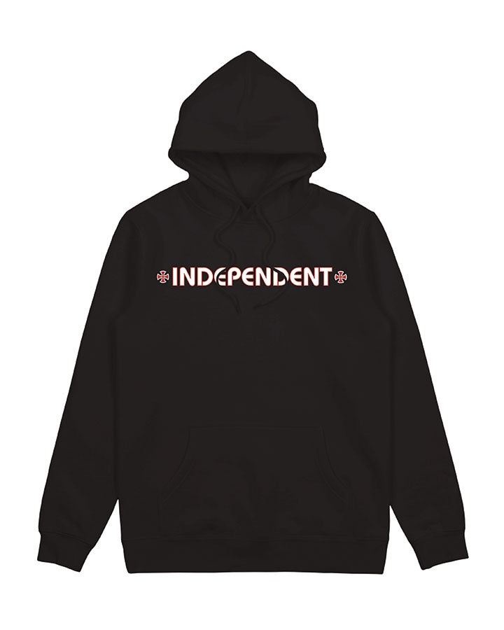 Independent Youth Bar/ Cross Youth Pop Hood Black