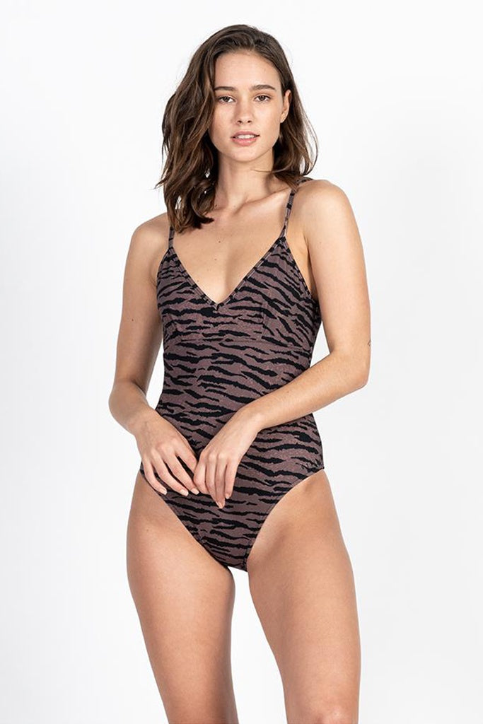Thrills Concrete Jungle Onepiece Dark Brown