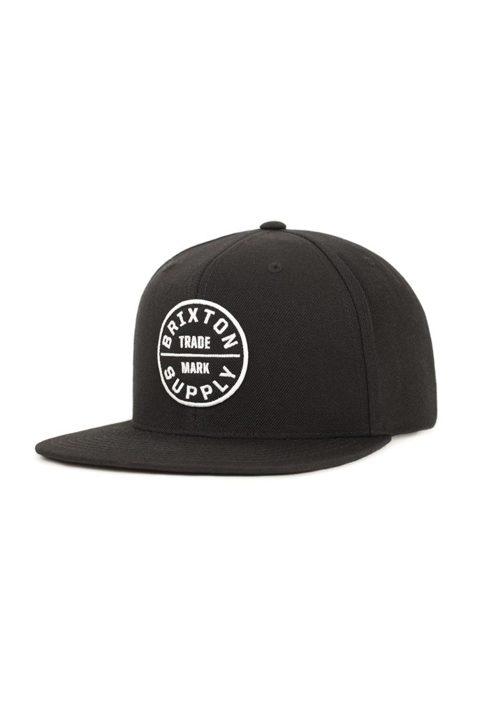 Brixton Oath III Snap Back Black OS