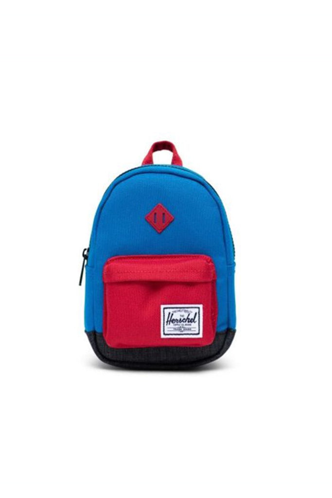 Herschel Heritage Mini Imperial Blue Red Black Crosshatch
