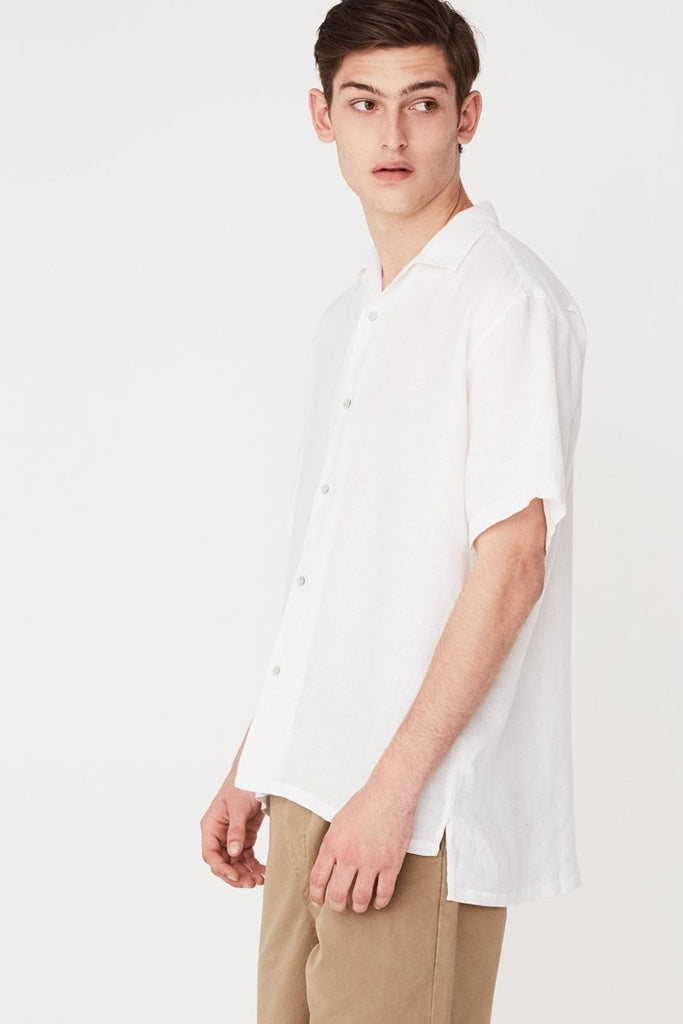 Assembly Casual S/S Shirt White