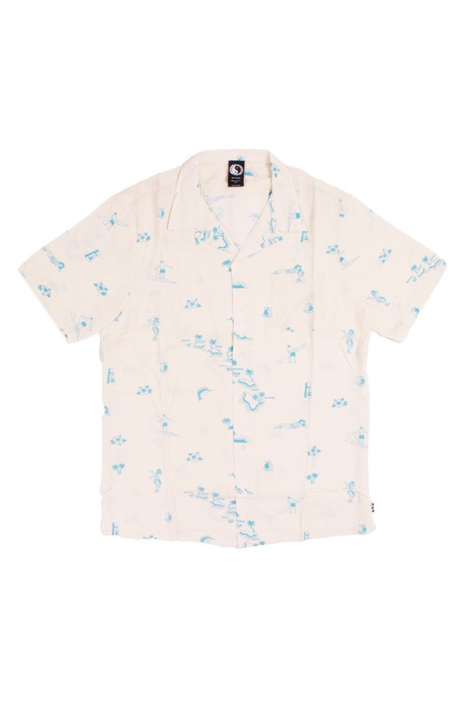 T&C Diamond Head S/S Shirt Bone
