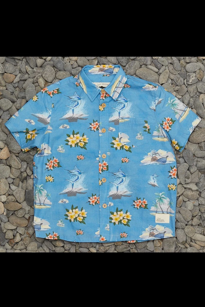 JAF Mini Marlin Shirt Blue