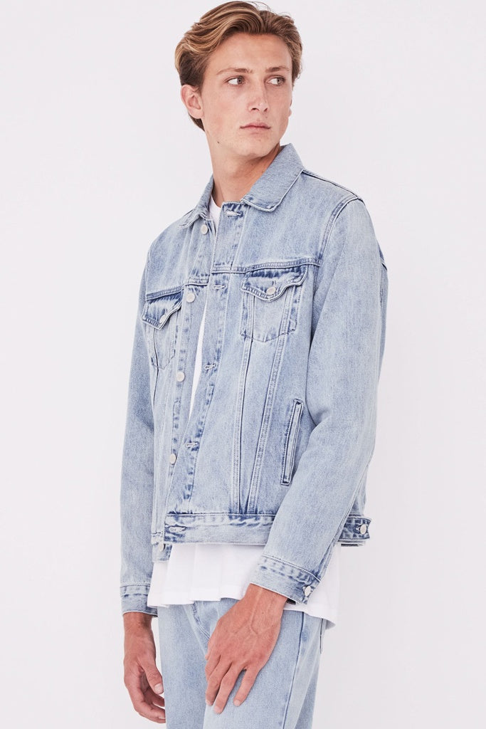 Assembly Renton Denim Jacket Stone Blue