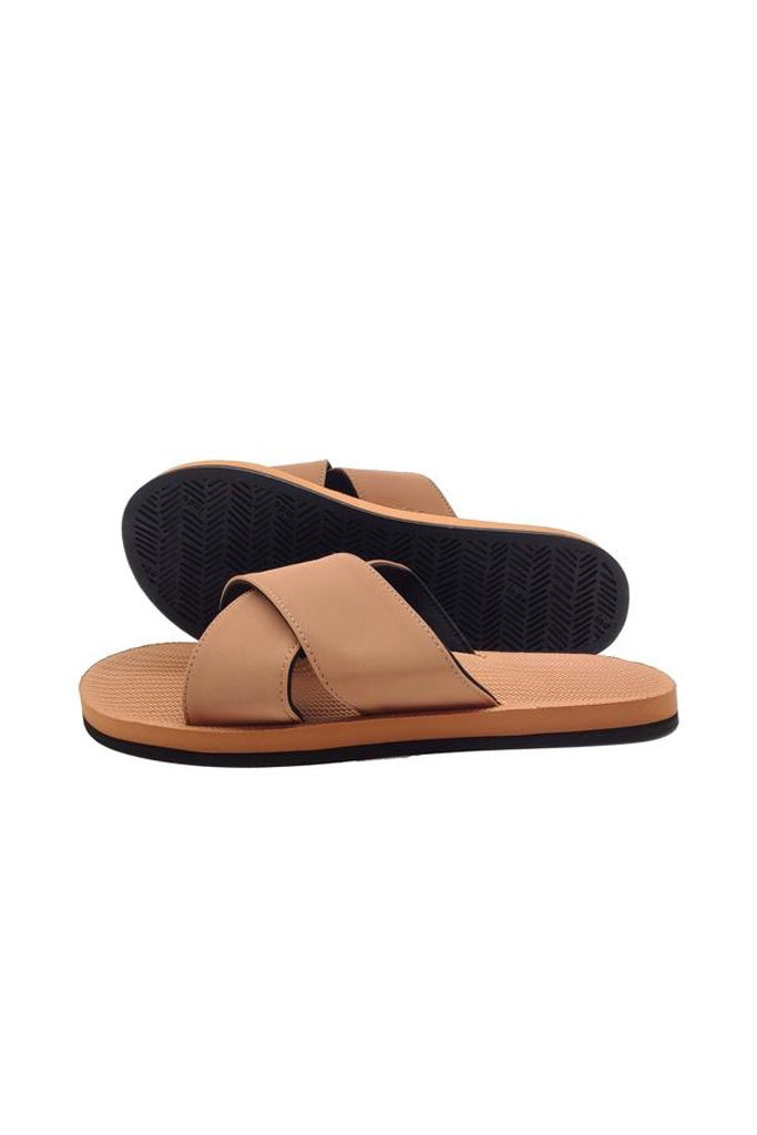 Indosole Womens Essentials Cross Rust
